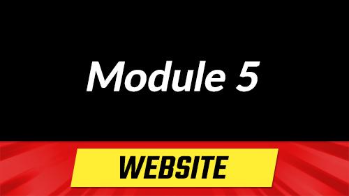 Module 5 - Build Your Website