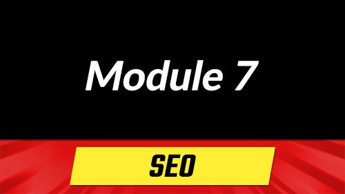 Module 7 - Search Engine Optimization